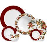 Jogo de Jantar Umbria Cerâmica 42 pçs