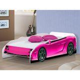 Cama Infantil Carro Pink Potente Móveis