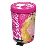 Lixeira Metálica 3L Barbie - Prat-k