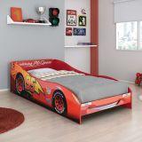 Cama Carros Disney Plus 5A Vermelho T2 Pura Magia