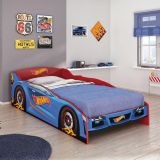 Cama Hot Wheels Plus - 5A Vermelho Mattel T4 Pura Magia