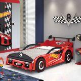 Cama Hot Wheels Premium - 5A Com Aerofolio Vermelho e Preto Acet T4 Pura Magia