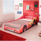 Cama Infantil Carros Disney Plus 3A Vermelho Pura Magia
