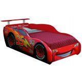 Cama Infantil Carros Star com Aerofolio Vermelho Pura Magia