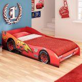 Mini Cama Carros Disney 4A Vermelho Pura Magia