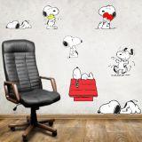 Adesivo de Parede - Modelo 145b - Snoopy