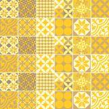 Adesivo de Parede - Modelo Azulejo 418 Amarelo