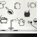 Adesivo decorativo Utensílios de Cozinha 36