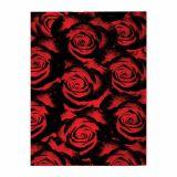 Tapete Veludo  Marbella Boreal Rosas Red 248x350
