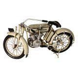 Enfeite Harley Davidson Bege
