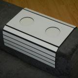 Esteirinha Para Braço Com Porta Copos  43X33 Cm Branco