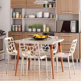 Cadeira de Cozinha Giovana Branca