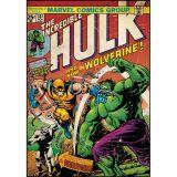 Adesivo Capa Quadrinho Hulk vs. Wolverine