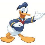 Adesivo Mickey e amigos - Pato Donald gigante removível