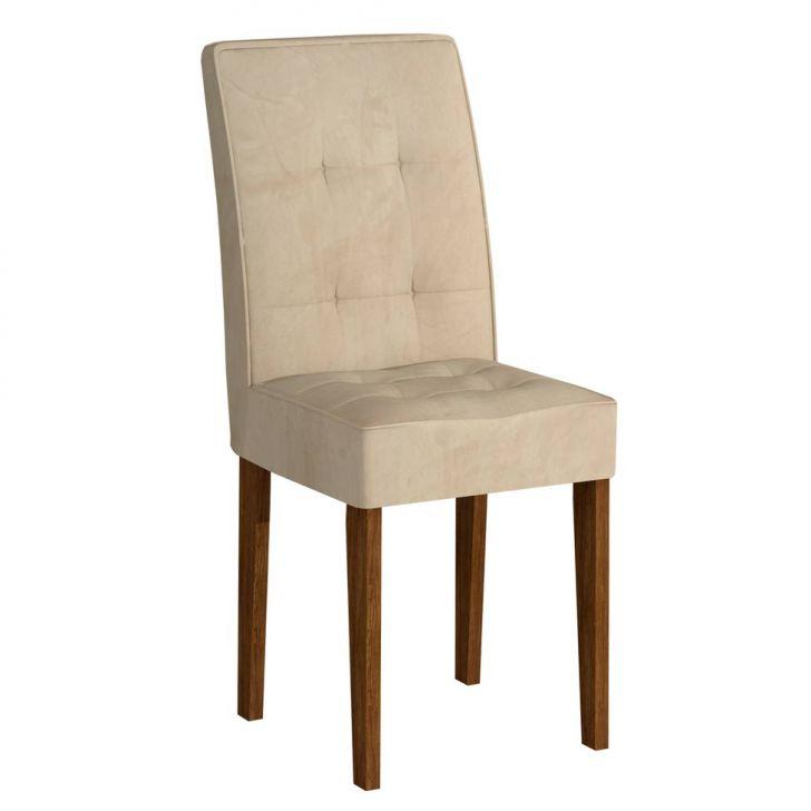 Cadeira Viena Ypê Suedi Creme