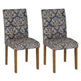 Conjunto 2 Cadeiras Paraty Ype Com Imperial Azul