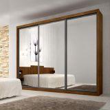Guarda-Roupa Ravena Top 3PT com Espelho 6GV Ypê