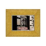 Porta Retrato Spikes Ouro 15x21 cm