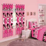 Cortina Disney Minnie Love 180 x 280 - Santista-Minnie