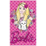Toalha de Banho Estampada 100% Algodão Barbie Love - Santista