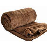 Manta King Soft Blanket - Marrom - 200 x 240 cm - Saturs