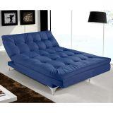 Sofá Cama Versátil Azul Ref. 375