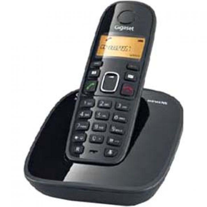 Telefone A 390 Dect 6.0 Identificador de chamadas e Display Iluminado Siemens