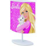 Abajur Oval Barbie Rosa Bivolt