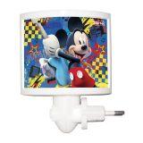 Mini Abajur Led Mickey 0,5W