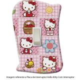 Placa de Interruptor Hello Kitty - sem Interruptor