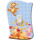 Placa de Interruptor Pooh Baby - sem Interruptor