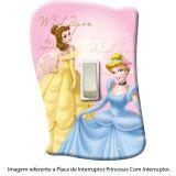 Placa de Interruptor Princesas Com Interruptor