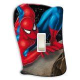 Placa de Interruptor Spiderman Com Interruptor
