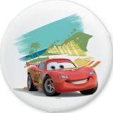 Plafon Licenciado Redondo Carros Branco