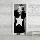 Adesivo de Porta Madonna Star