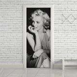 Adesivo de Porta Marilyn 101