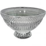 Bowl de Vidro Trabalhado 18 cm Vidro