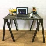 Mesa de Cavaletes Studio Amarelo e Natural!