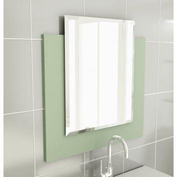 Espelheira 25 Para Banherio 60 cm Verde Tomdo Espelheira p / Banherio