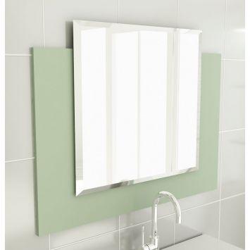 Espelheira 25 Para Banherio 80 cm Verde Tomdo Espelheira p / Banherio