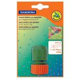 Engate Rapido Tramontina c/ Aquastop p/ Mangueira 5/8- e 3/4-