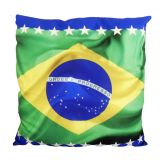 Almofada Impressão Digital Brasil ALM-DV-03P 35x35 cm Uniart
