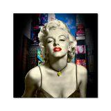 Quadro Impressão Digital Merilyn Monroe Colorido 45x45 Uniart