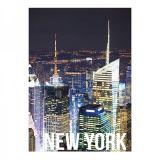 Tela Landscape New York Night Lights