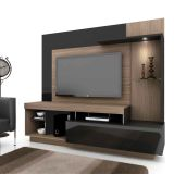 Home Theater Royale Wengue Com Preto Vamol