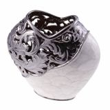 Vaso Decorativo Metal/Madreperola I | Venus