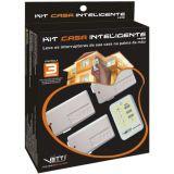 Kit Casa Inteligente 03 pontos Vetti Branco