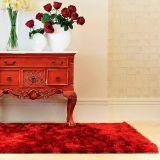 Tapete de Sala Shaggy Valencia 100X140  Vermelho Citerio