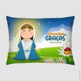 Almofada 35x26cm - Nossa Senhora das Graças - Virô Presentes