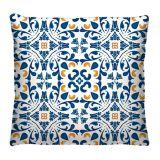 Almofada 40x40cm - Azulejo 03 - Virô Presentes